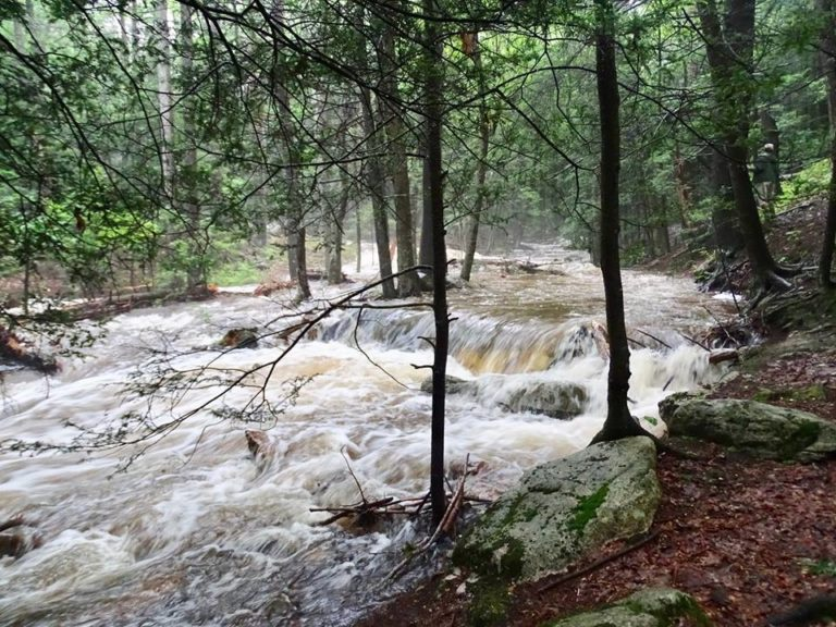 Rausch Creek Diversion Wells Pummeled by July Storm Events