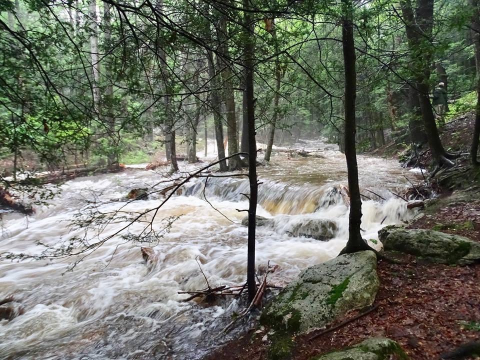 Rausch Creek Diversion Wells Pummeled by July Storm Events