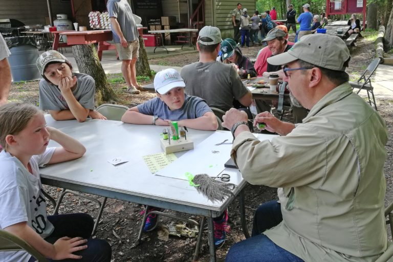 Volunteers Help Out at DCAC Youth Field Day