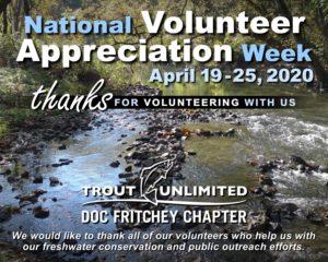National Volunteer Appreciation Week