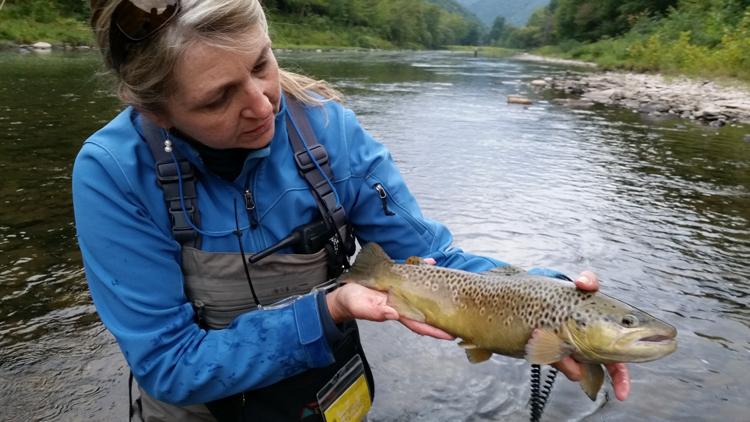 Julie Szur Fishing Trip Raffle Winner