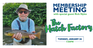 January Membership Meeting will Feature Special Guest Rick Nyles