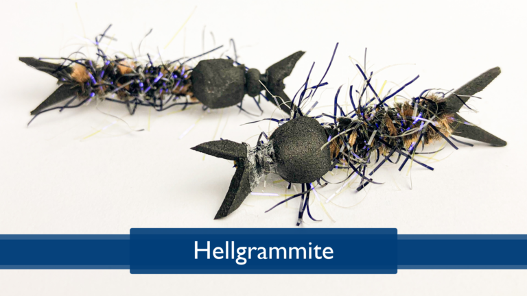 Tying a Hellgrammite with Rich DiStanislao
